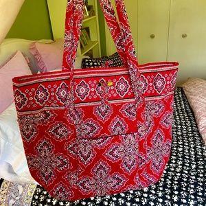 Vera Bradley Red Tote Bag